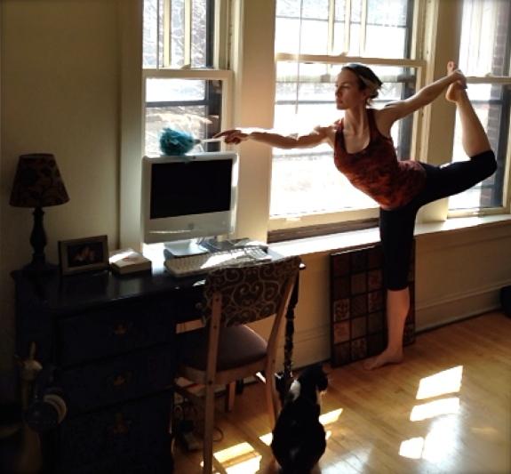 Dancer's Pose Natarajasana