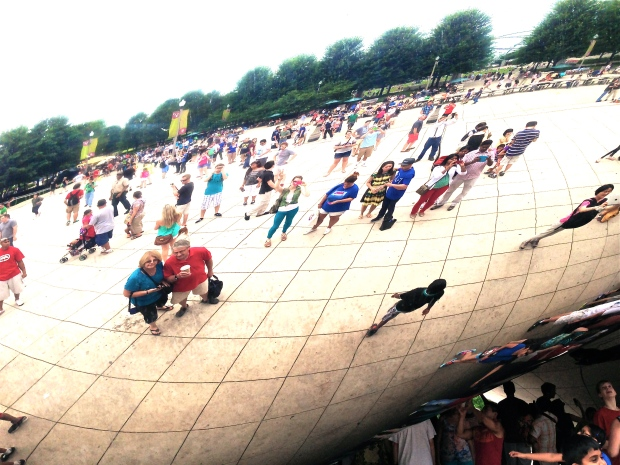 millenium park cloud gate