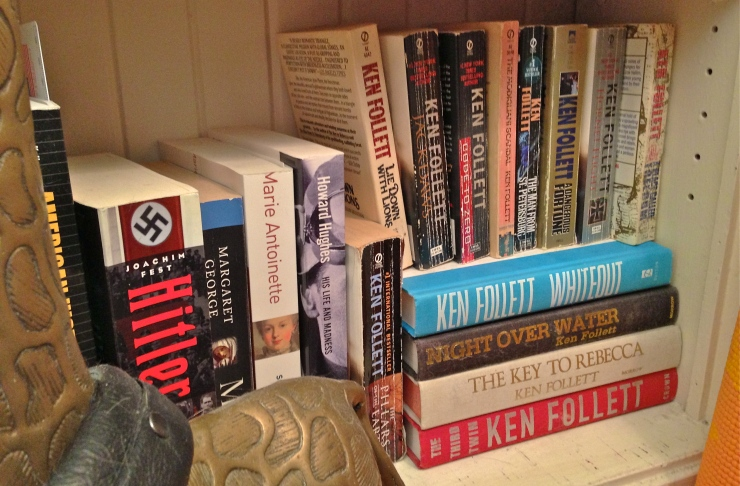 Bookshelf Ken Follett