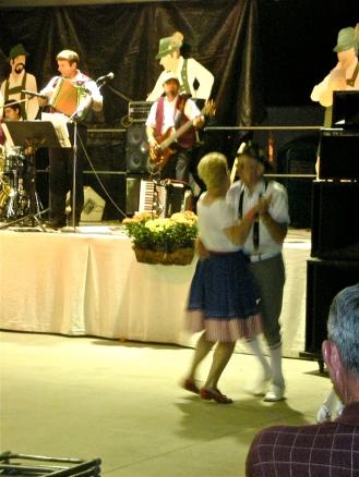 oktoberfest couple dancing
