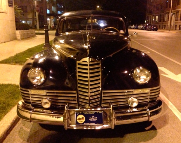 1947 henney limousine packard 8 front