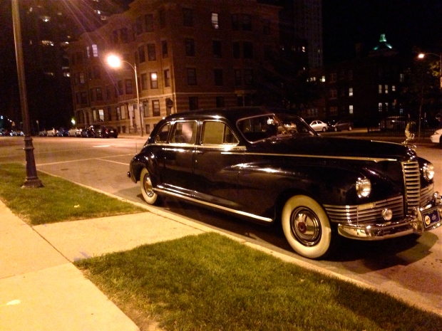 1947 henney limousine packard 8 side