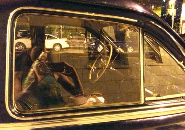 1947 henney limousine packard 8 interior