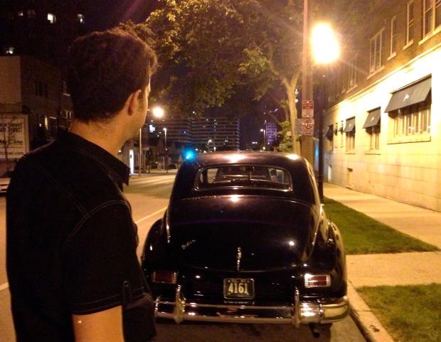 I1947 henney limousine packard 8 rear