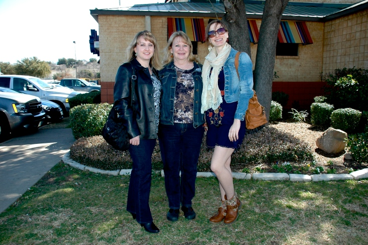 sis, mom, and me