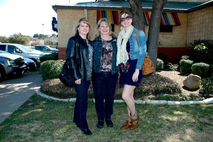 sis, mom, and me