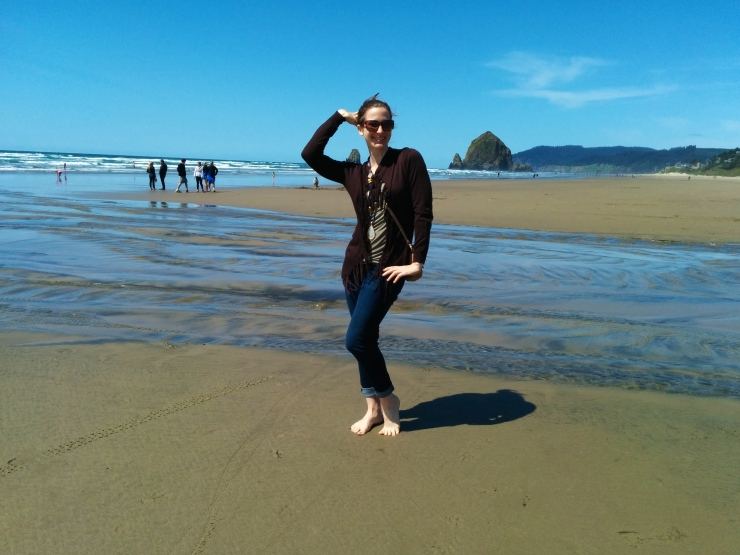 Cannon Beach Showgirl