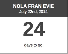 Nola Fran Evie Book Release
