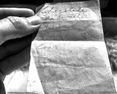 vintage shopping list