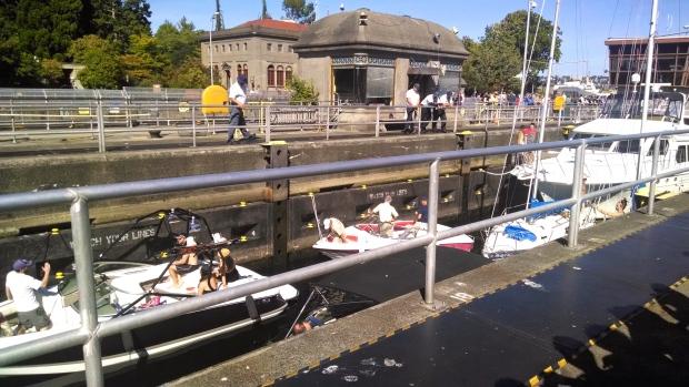 Ballard Locks boats