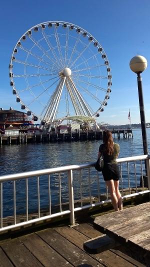 Seattle ferris wheel