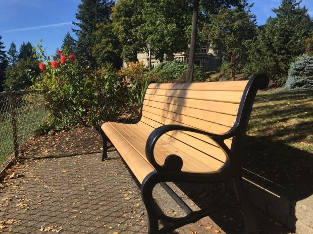 bench pittock mansion
