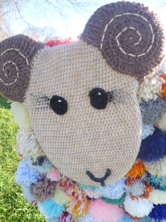 Sheep in the Square