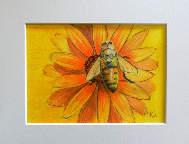 kath unsworth bee sketch