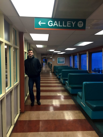 edmonds-kingston ferry galley