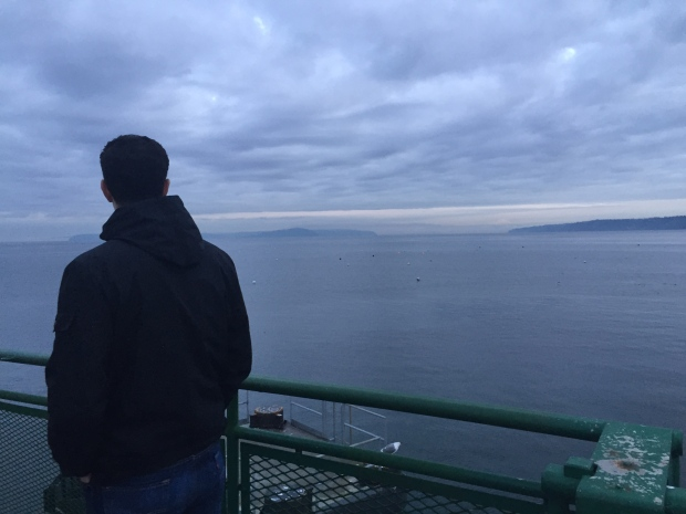 puget sound in the morning