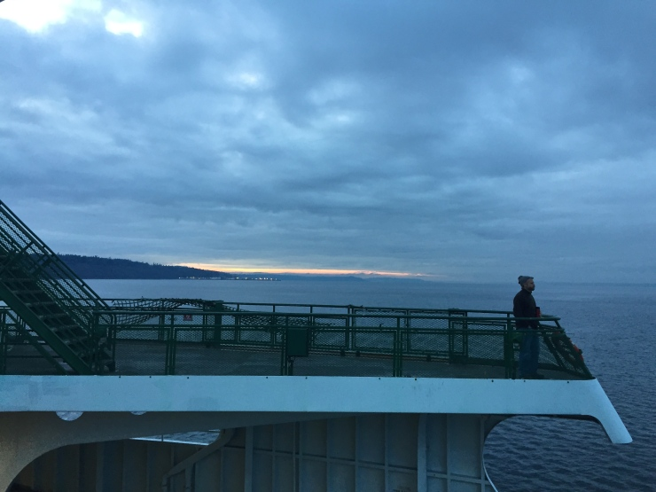 man on ferry