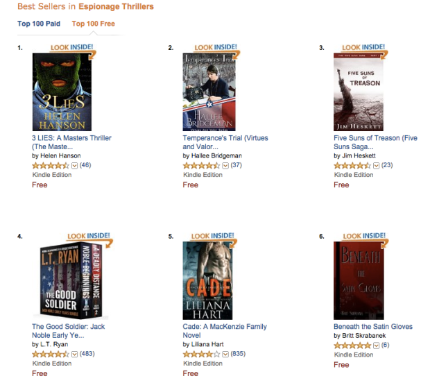 Amazon Bestsellers #6