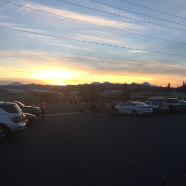 crux sunset
