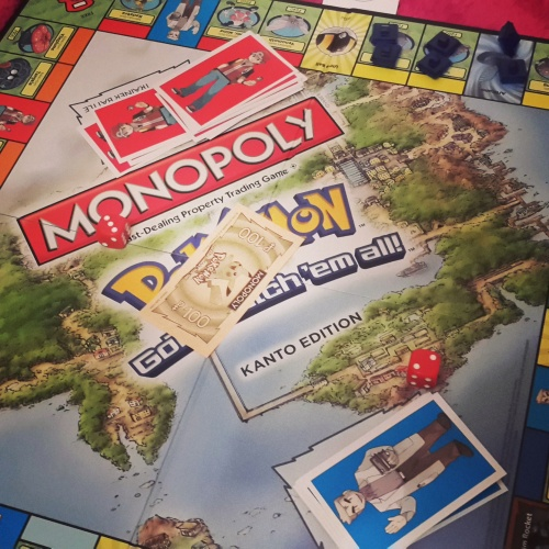 A game of Pokémon Monopoly that got a little bit heated towards the end!