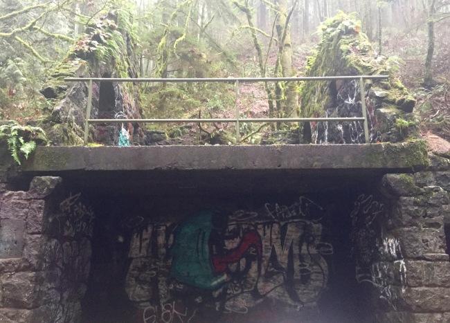 stone house graffiti