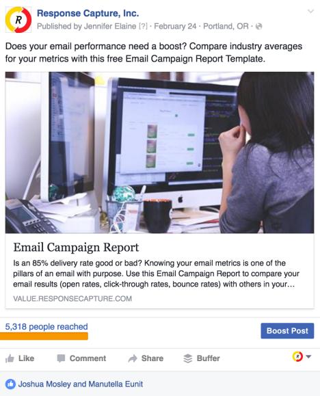 facebook paid media