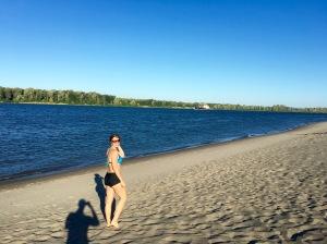 sauvie island beach