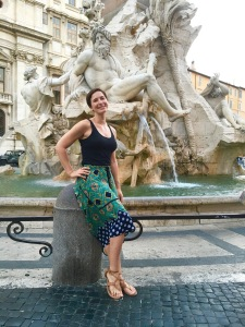 piazza navona fountain