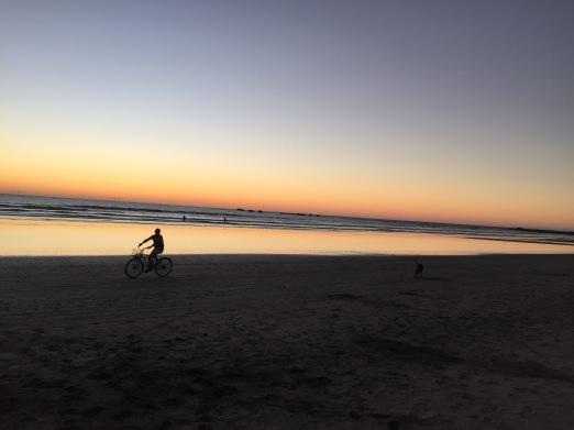 sunset-biker