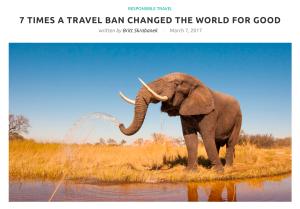 intrepid travel writer