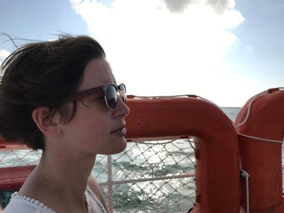 ferry seasick