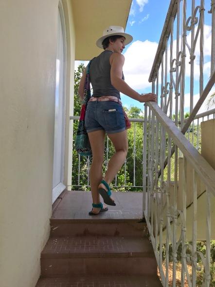 walking around gellhorn's house