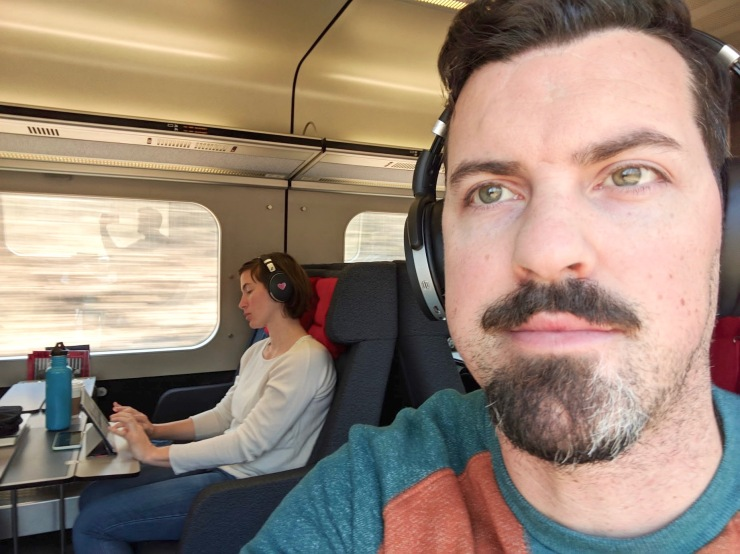 train writing