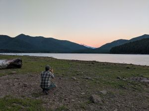 sunset mount jefferson