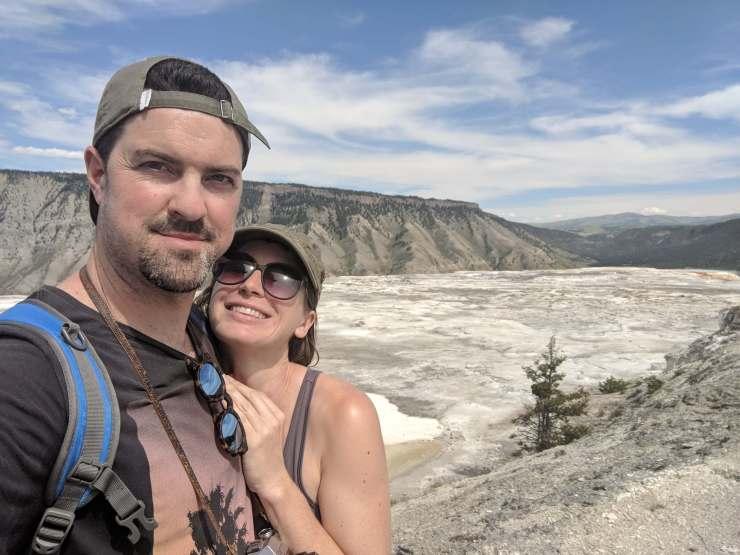 romantic yellowstone trip