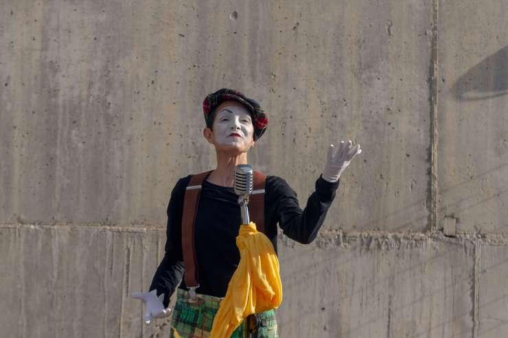 mime singing