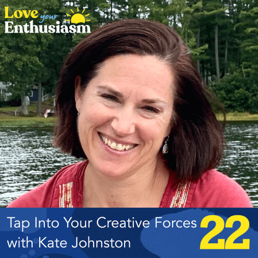love your enthusiasm kate johnston